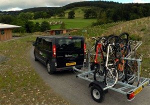 Bike Bus Glentress