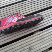 And after: The lovely, not-so-shiny Inov-8 Mudclaw 272s
