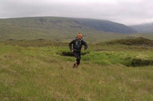 Colin Meek on Day 27 of running Scotland's Watershed