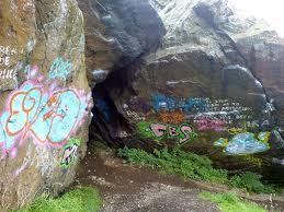 Not so pretty: Graffiti
