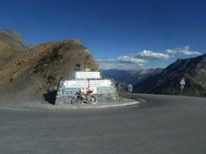 Top of Col du Galbier