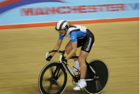 Track star Charline Joiner