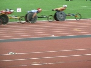 Men's 5k wheelchair event