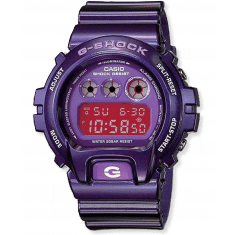 G Shock watch in purple