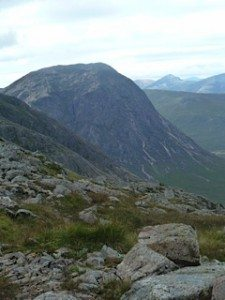 Buchaille Etive Mor and Curved Ridge