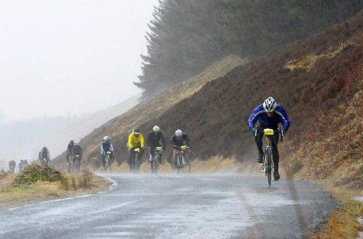 Tour o' The Borders cycle sportive. Pic credit: Kevin McLean