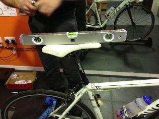 bike fit measuring