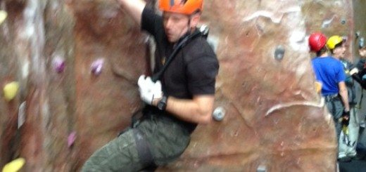 Indoor climbing in Scotland