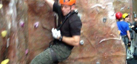 Indoor climbing in Scotland