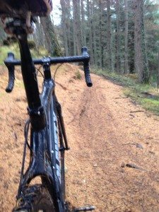 Cyclocross fun at the Witches Trails at Nevis Range, Fort William
