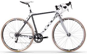 A cyclocross bike makes sense for improved safety when cycling in winter