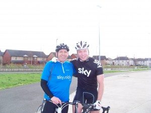 The weight comes off and Phil meets his hero Sir Chris Hoy