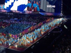 An Opening Ceremony that encouraged all visitors to Bring it On Glasgow styley.