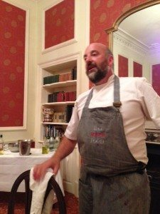 Scottish chef Tom Lewis.
