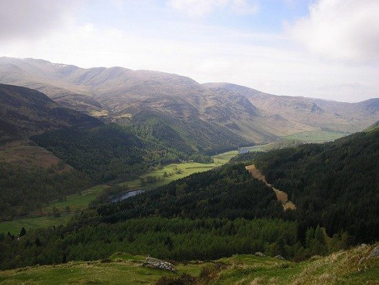 Glen Lyon. Pic credit: Graham Lewis on Flickr