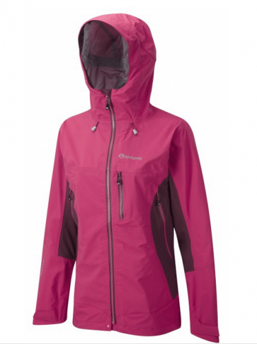 Sprayway Pandora waterproof jacket.