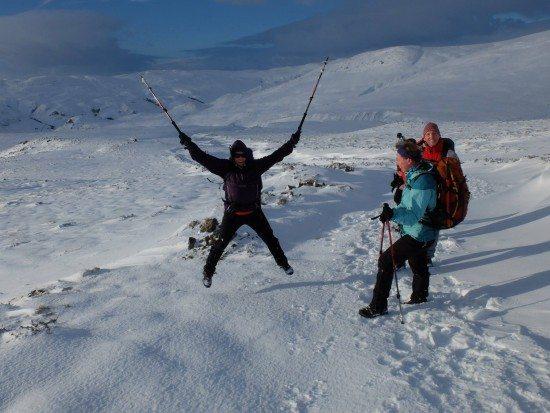 Jump for joy: Run, hike, ski, swim, cycle whatever you fancy in the 5x50 Challenge.