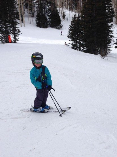 Don't worry if you didn't start skiing as a youngster.
