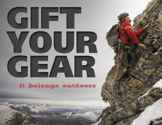 6c1a7c253ea Great idea: Gift your Gear - FionaOutdoors