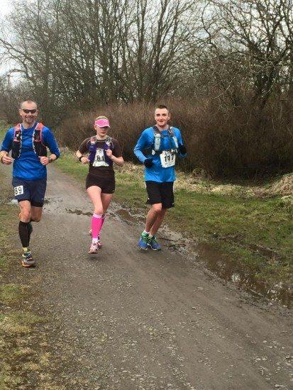Izzy runs in the G2E Ultramarathon 2015.