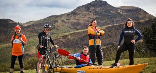 ProjectScotland CEO Paul Reddish and ProjectScotland volunteers (1)