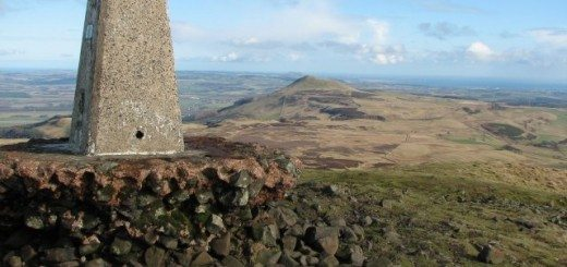 West Lomond Trig Point. Pic credit: Wiki Creative Commons licence