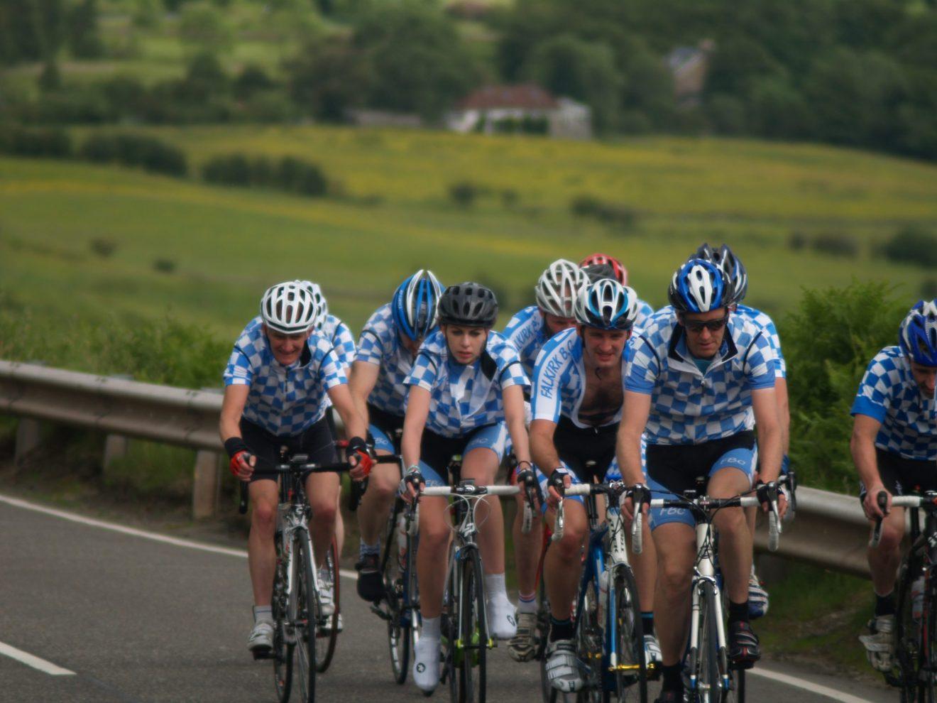 Falkirk riders take on Everesting.