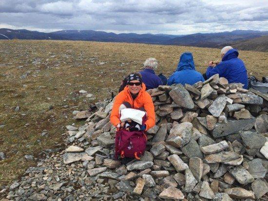 My 182nd Munro, Carn an Fhidhleir.