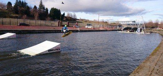 Glasgow wake park opens.