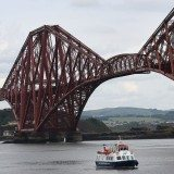 The Forth Bridge has been officially inscribed as a UNESCO World Heritage Site. Photo David Cheskin.
