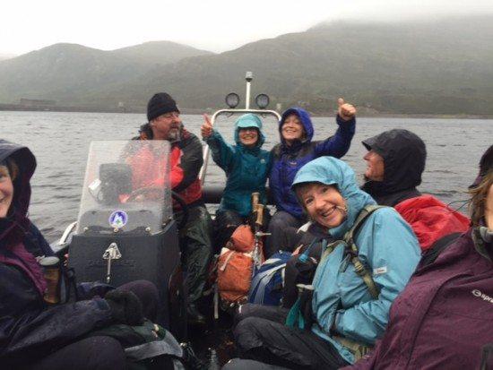 Loch Mullardoch ferry.