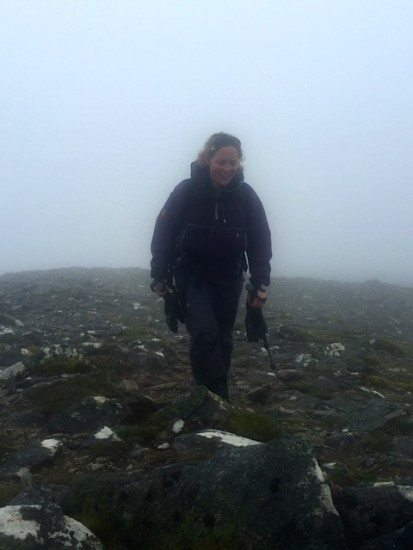Tansy reaches summit four.