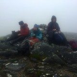 Final summit picnic (still in the clouls!).