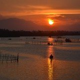Sunset on Thu Bon river, Vietnam. Pic credit: Loi Nguyen Duc on Flickr