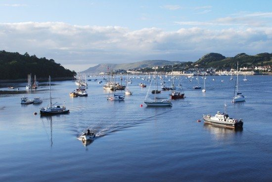 Conwy or the North Wales route.