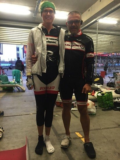 Thanks to Claude for kitting me out in a full set of dry cycle clothing.