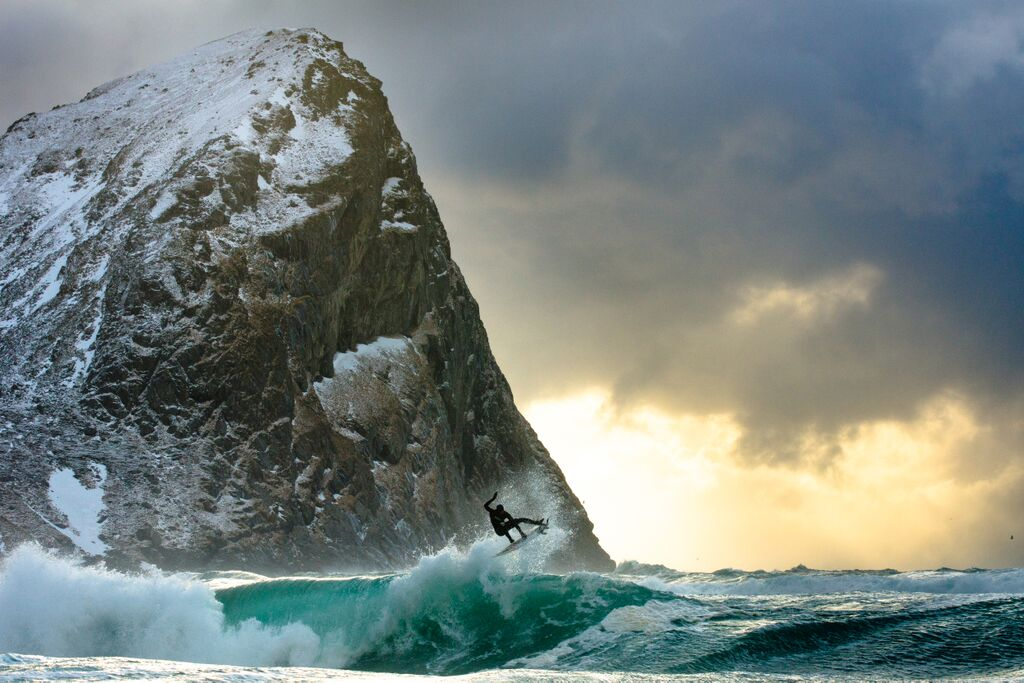 Arctic Swell by Chris Burkard.