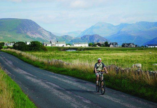The original C2C passes through the Lake District.