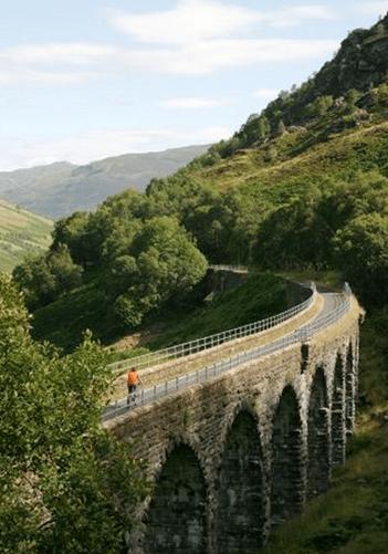 Glen Ogle viaduct. Pic credit: Sustrans.