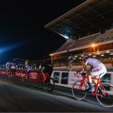 Night time at the 24-hour sportive. Pic credit: Thomas Lodin