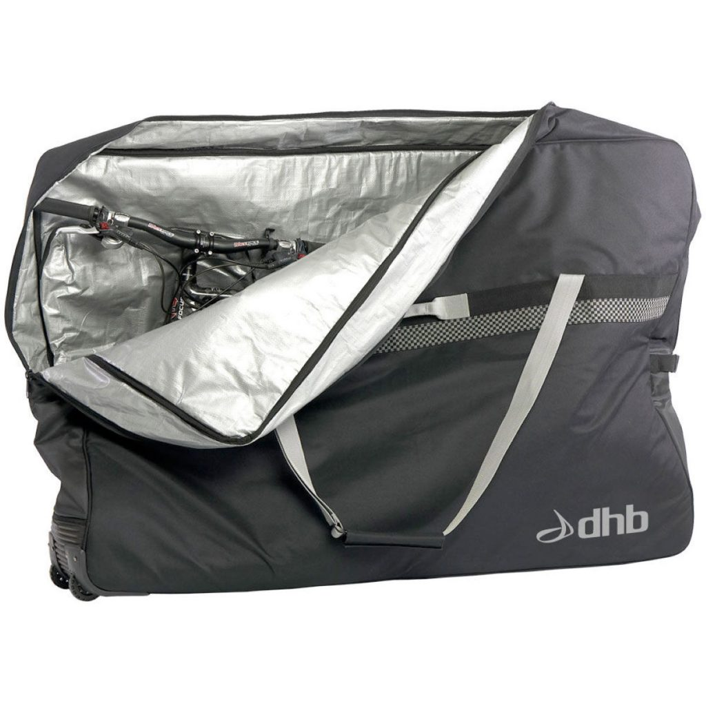 how to carry asleeping bag on a bicycle tour