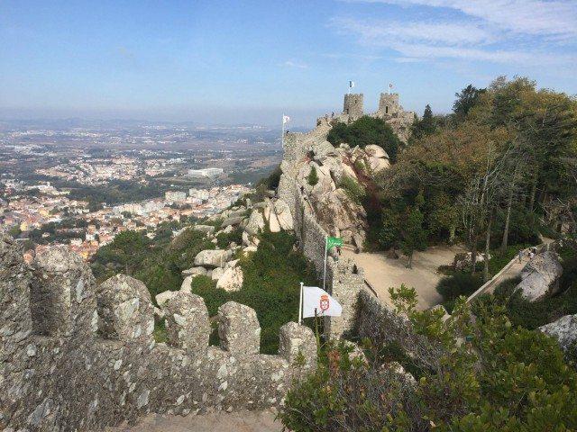 Stunning Moorish castle at Sintra.
