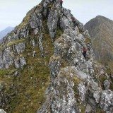 AE ridge. Pic credit: Andrew Galloway