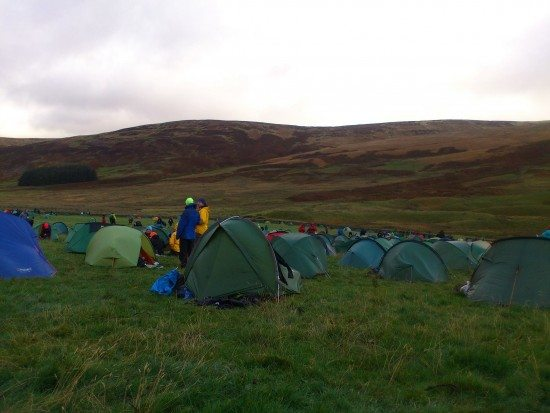 OMM overnight camp.