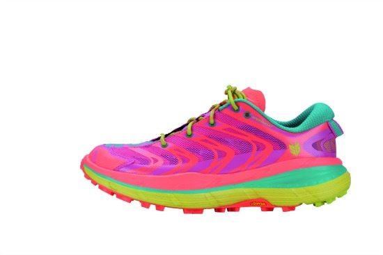 Women's Speedgoat (Neon Coral - Aqua)