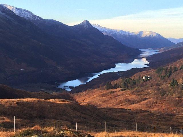 Stunning Loch Leven.