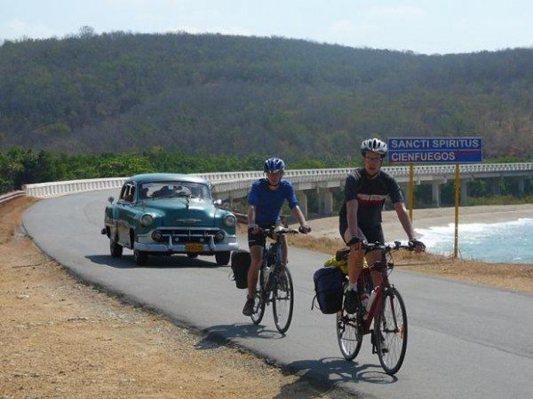 Exodus cycling holiday in Cuba.