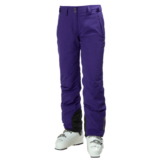 Legendary ski pants in Princess Purple.