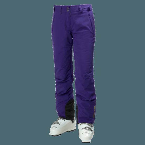 Legendary ski pants in Princess Purple.