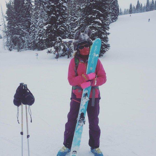 Skiing at Alta.